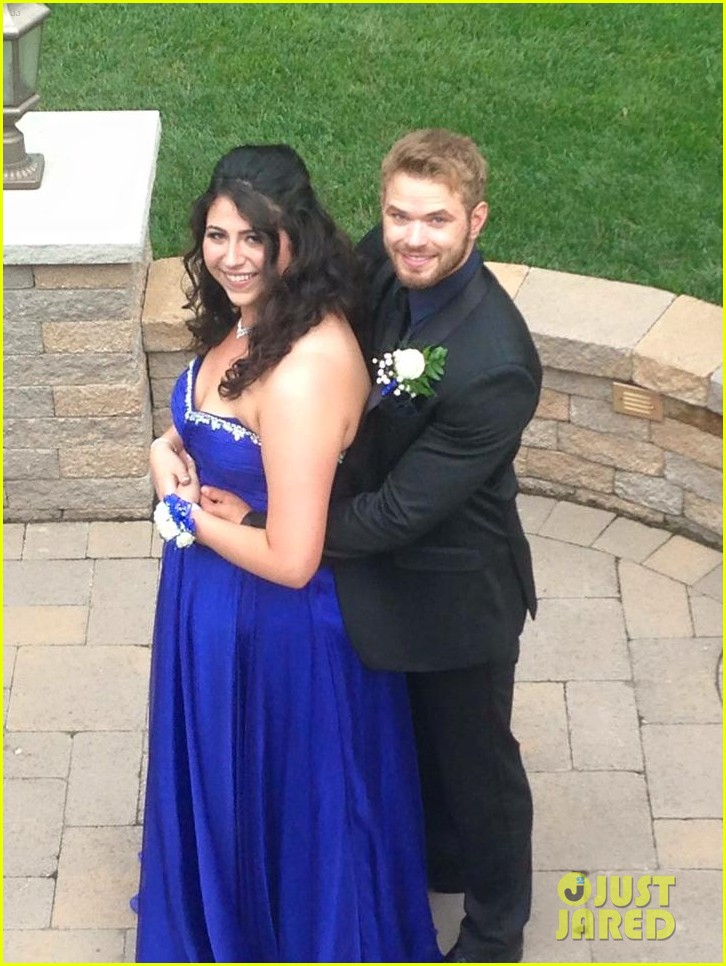 kellan lutz took this high school student to her prom 233388936