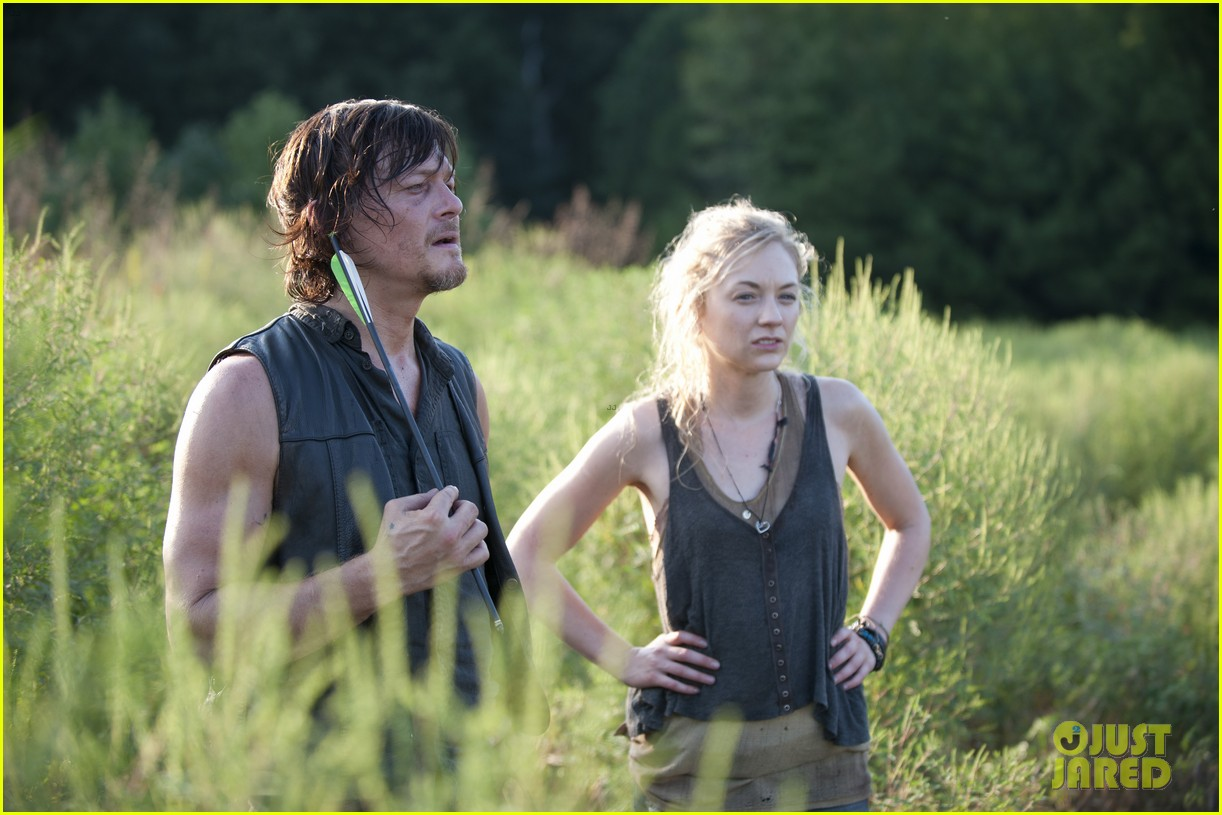 are norman reedus and emily kinney really dating