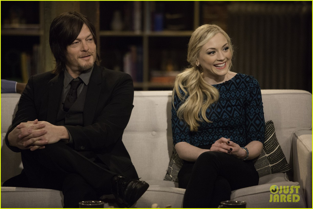 Norman Reedus And Emily Kinney Dating 2018