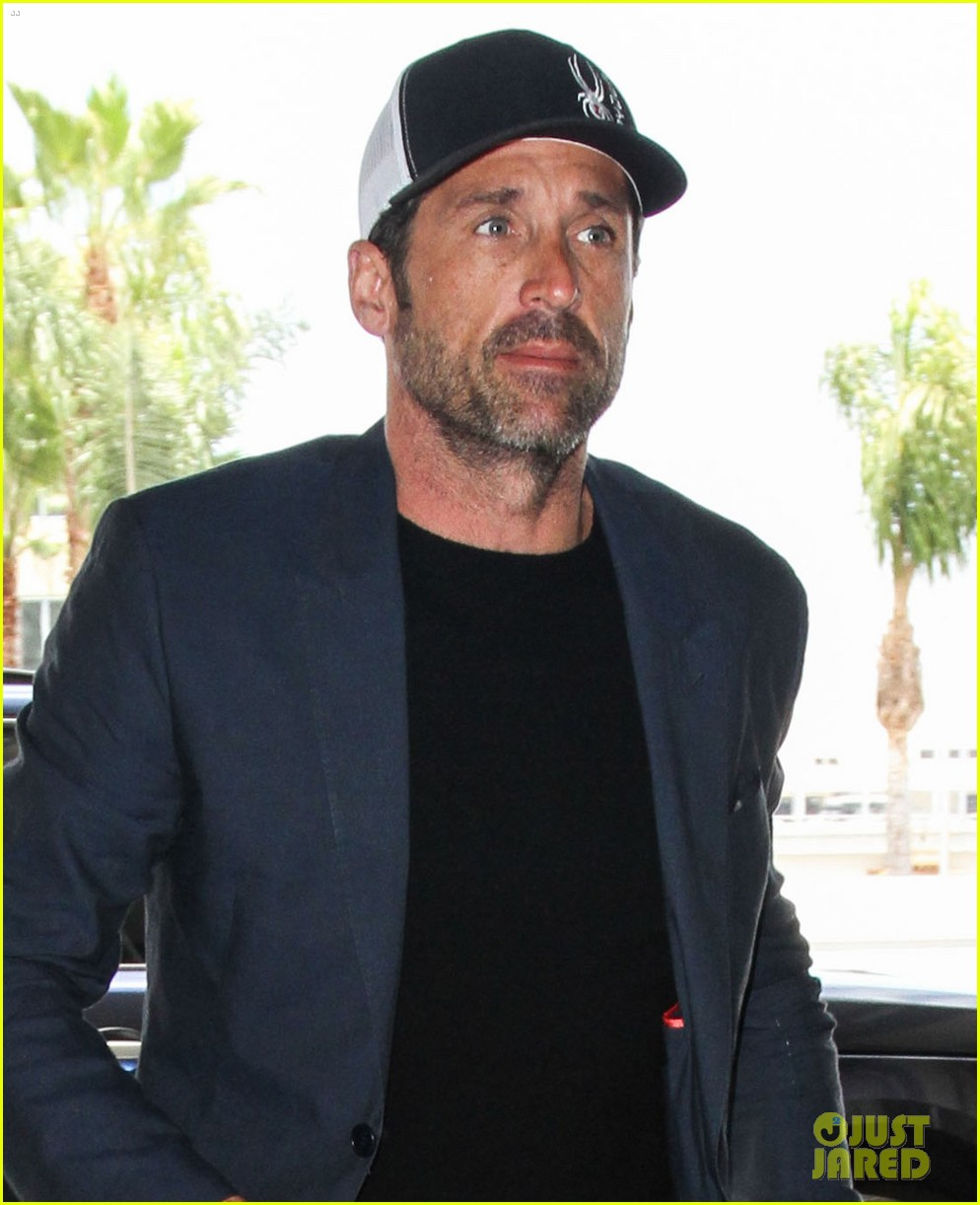 patrick dempsey lax airport 013403649