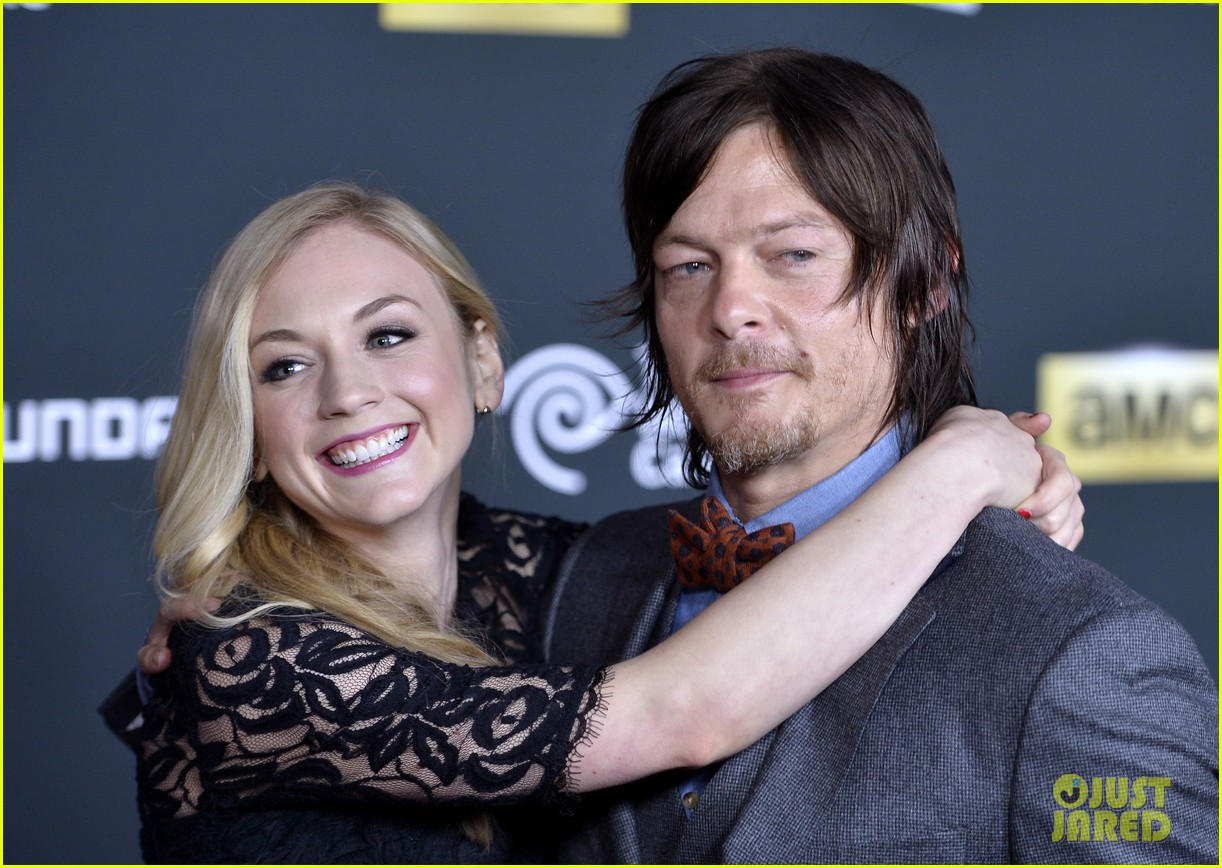 Walking dead s norman reedus amp emily kinney are reportedly dating