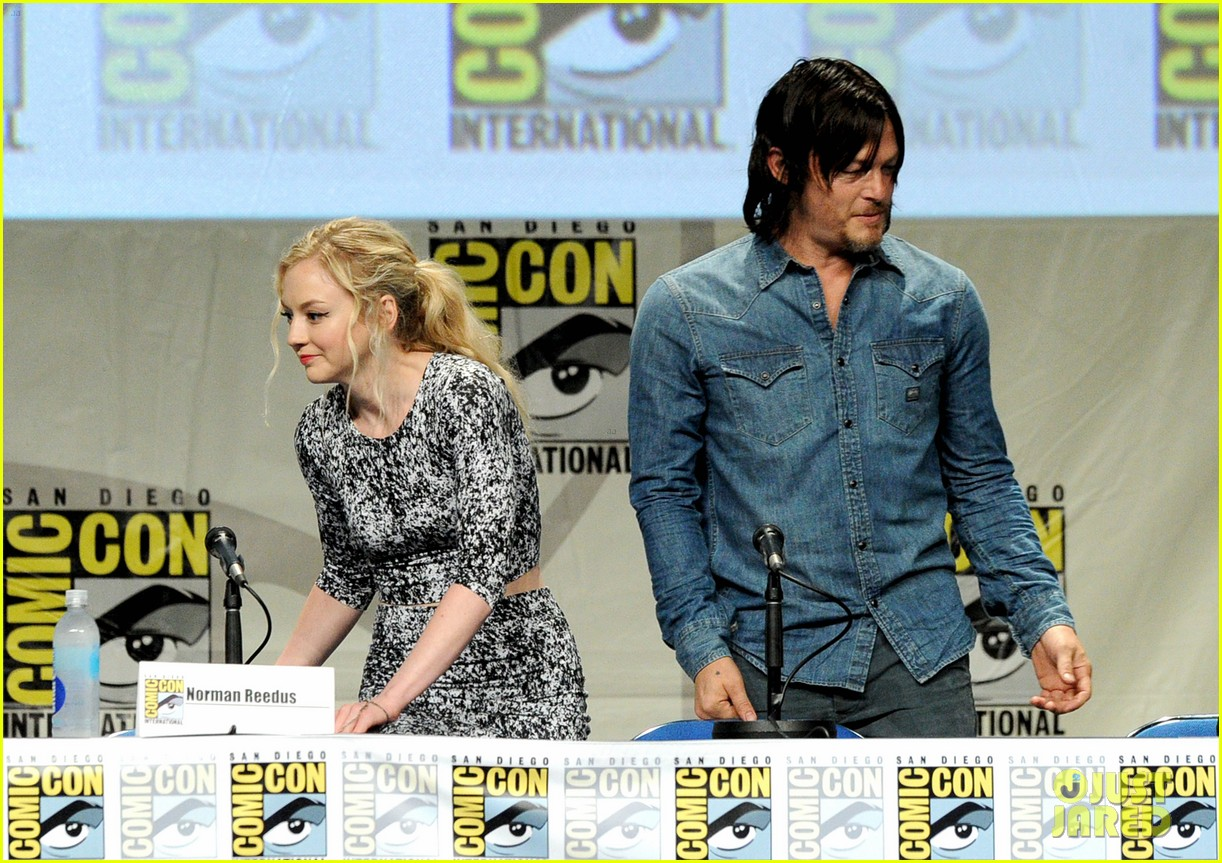 Are emily kinney and norman reedus dating