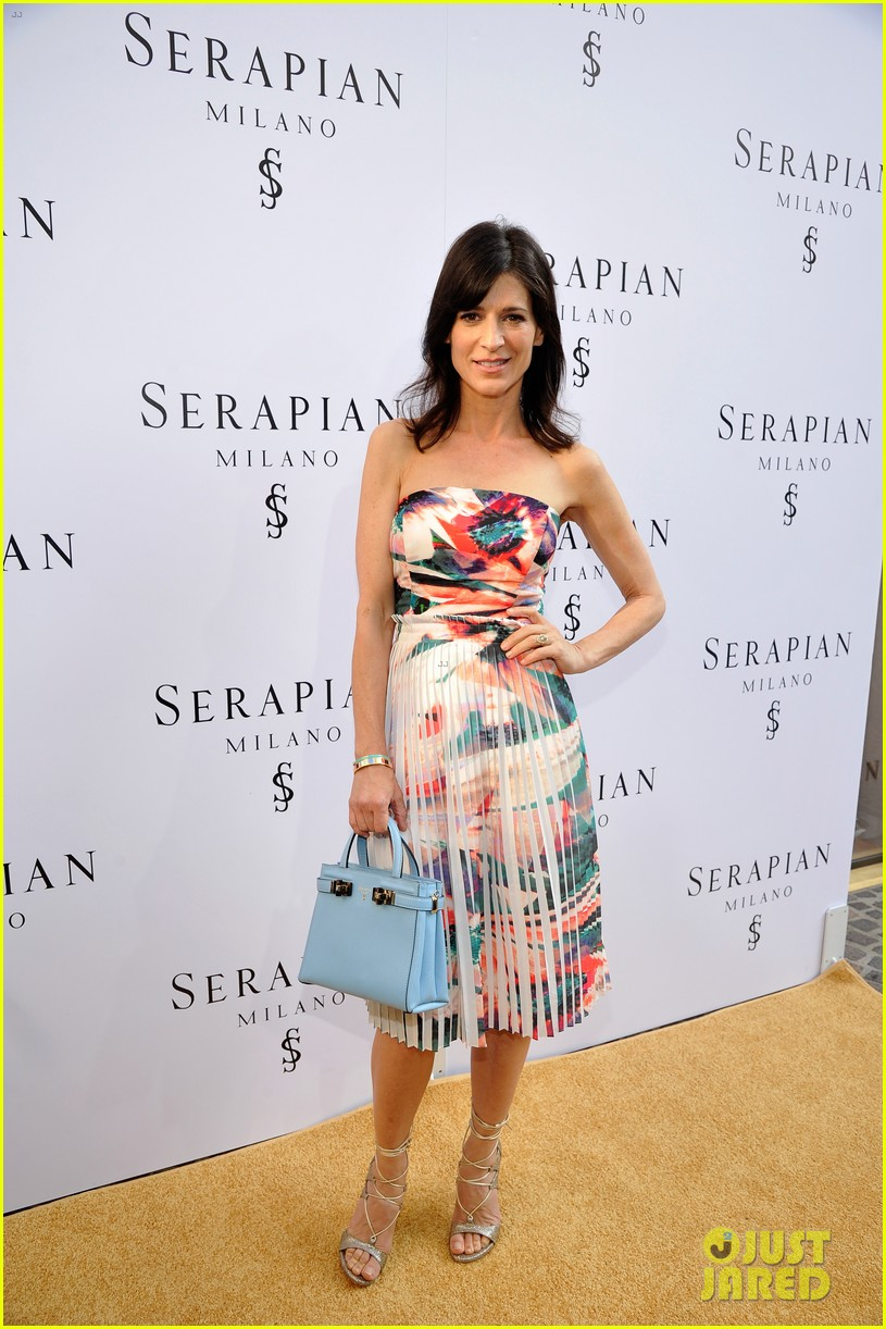 holland roden kendrick sampson celebrate opening of serapian milano 023385562