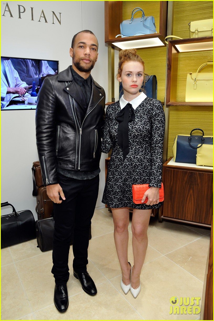 holland roden kendrick sampson celebrate opening of serapian milano 033385563