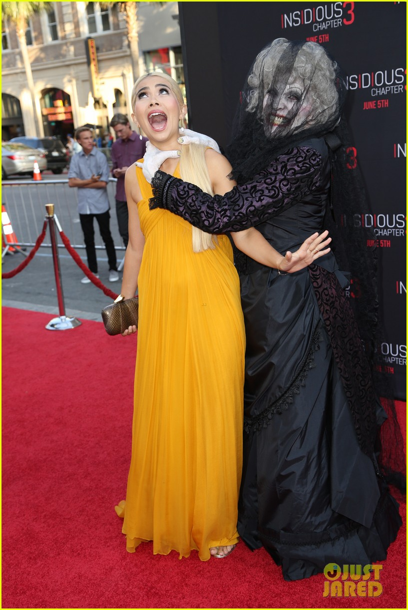 Insidious Chapter 3 S Stefanie Scott Premieres Her New Movie Photo 3386303 Aaron Rhodes Austin Rhodes Becky G China Anne Mcclain G Hannelius Hayley Kiyoko Insidiousch3 Lydia Hearst Olivia Holt Renee Olstead