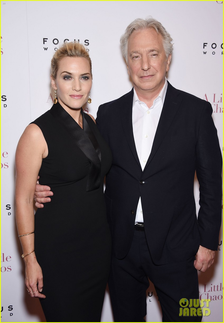 Kate Winslet Brings 'A Little Chaos' to NYC with Alan