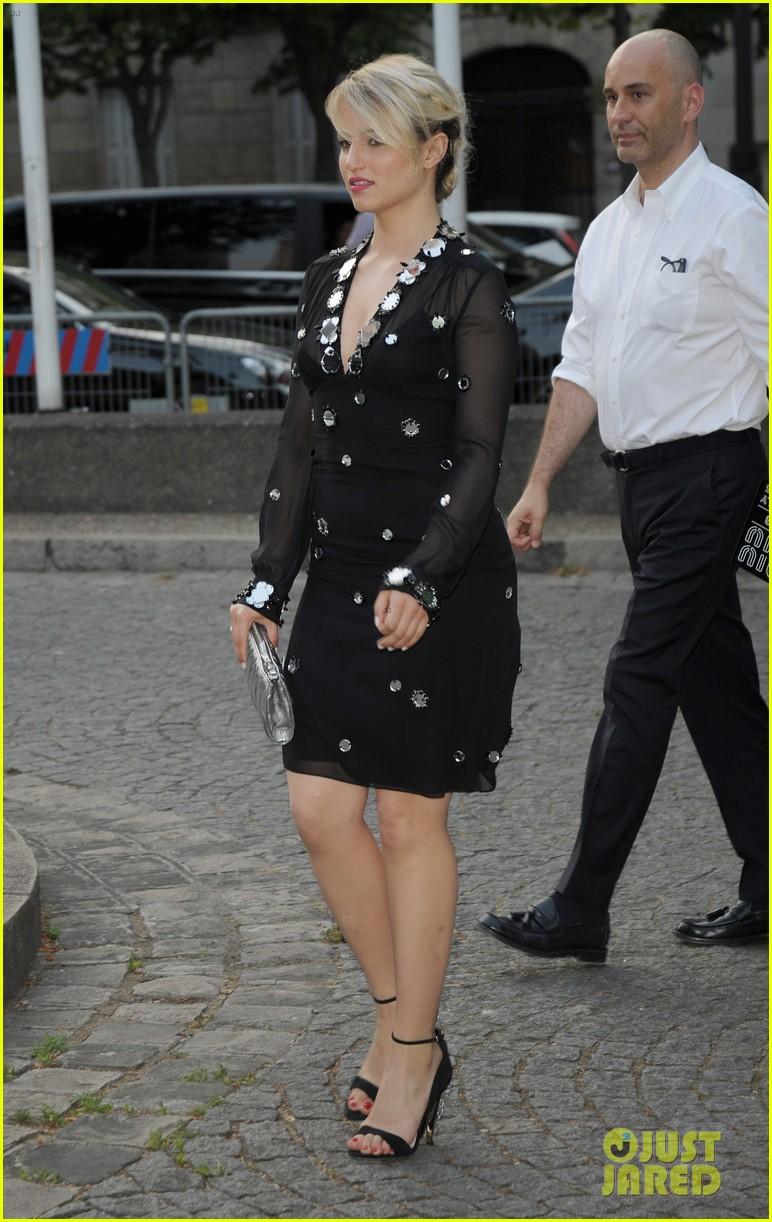 dea0a9e360c7 Amber Heard   Elizabeth Olsen Attend Miu Miu Launch in Paris  Photo ...