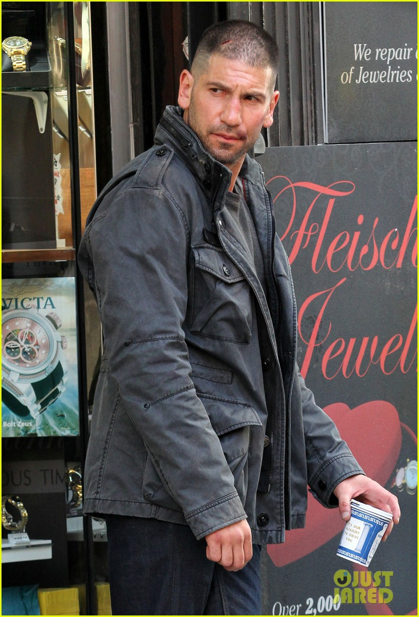 jon bernthal pictured as the punisher on daredevil set 063413274