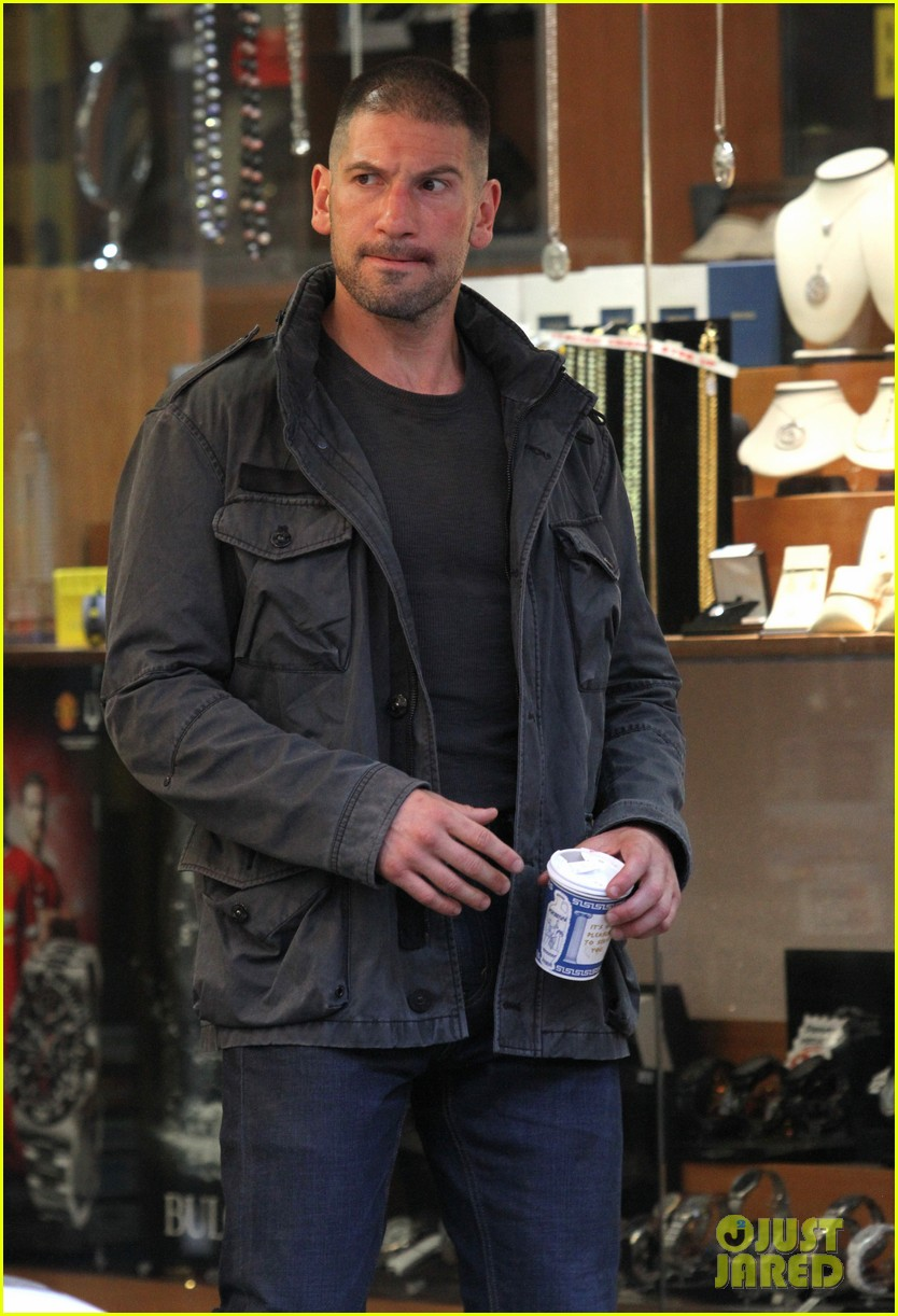 jon bernthal pictured as the punisher on daredevil set 123413280