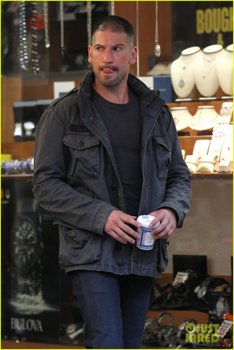 jon bernthal pictured as the punisher on daredevil set 133413281