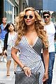 beyonce curve hugging dress nyc 17