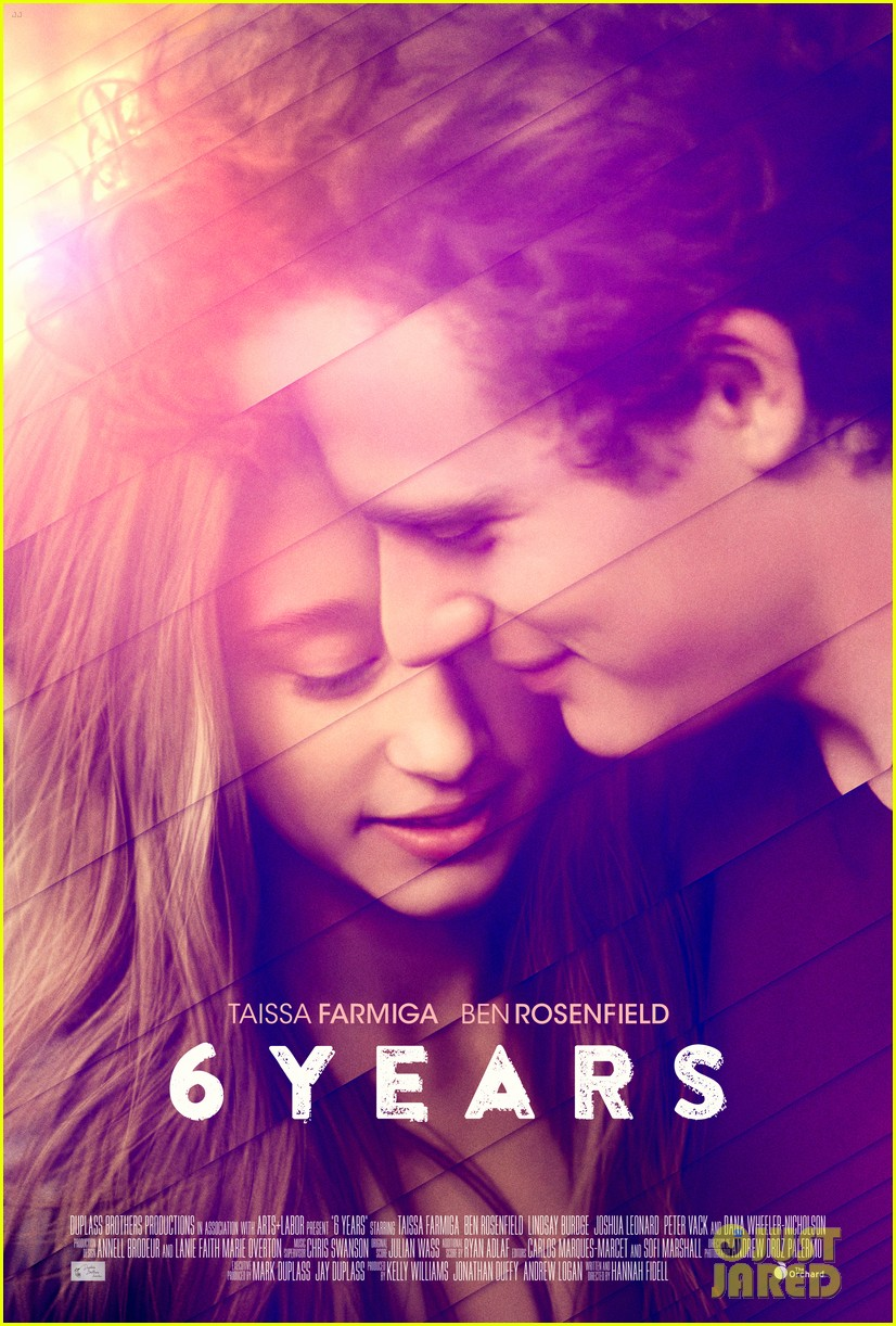Taissa farmigas movie 6 years gets a romantic new poster photo taissa farmigas movie 6 years gets a romantic new poster ccuart Image collections