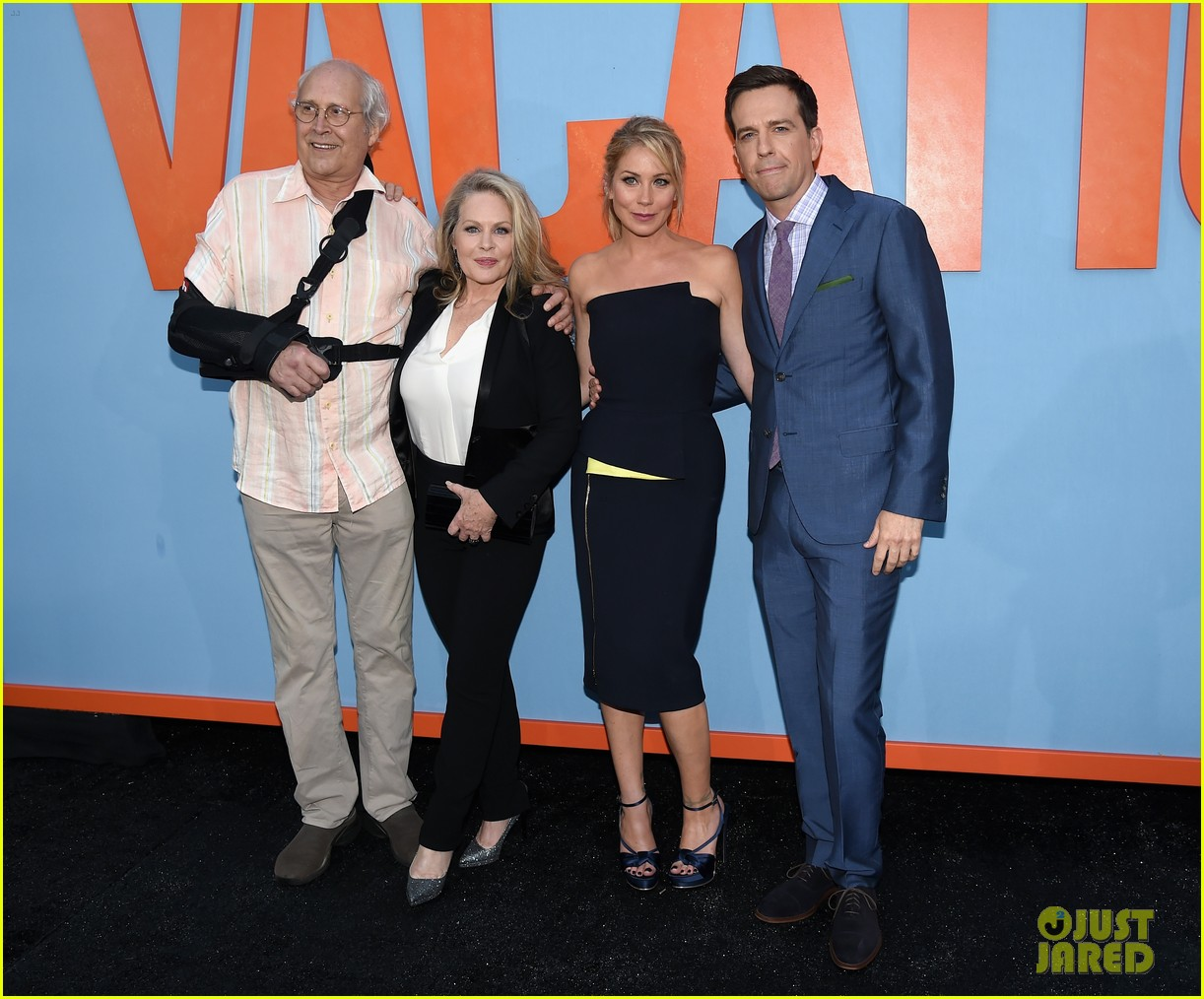 two generations of vacation meet at new films premiere 033425431