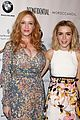 kiernan shipka christina hendricks la confidential party 21