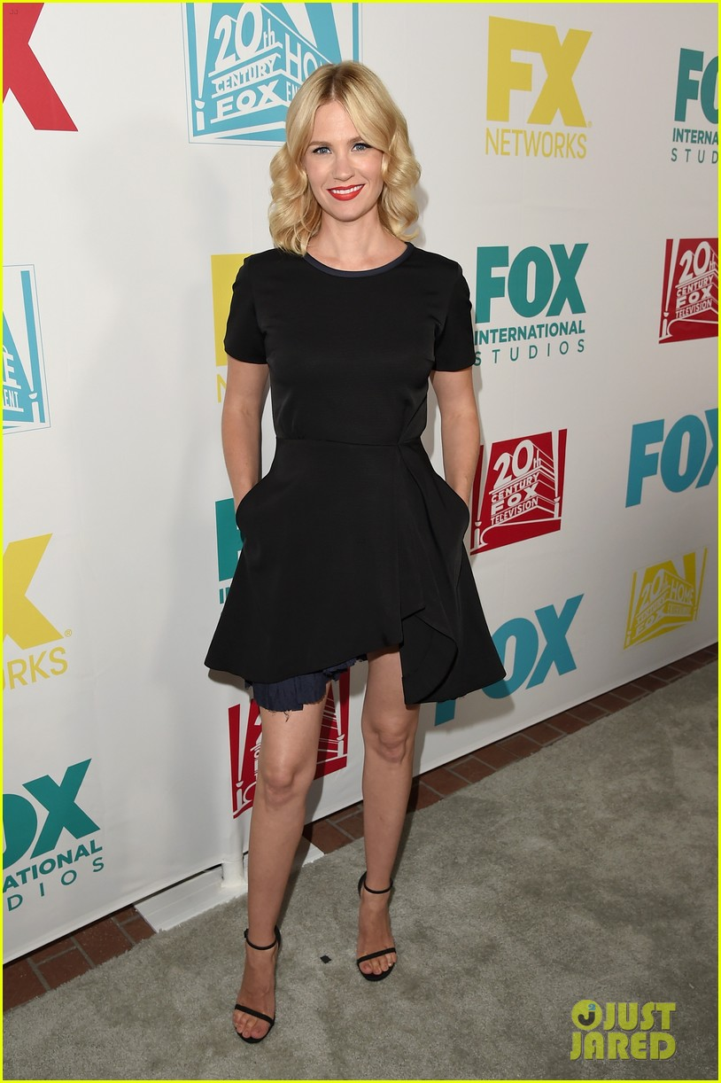 january jones ashley madekwe bring chic style to comic con party 013413498