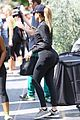 khloe kardashian kim kardashian cycle for a cause 11