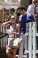 jesse metcalfe cara santana lunch the ivy 14