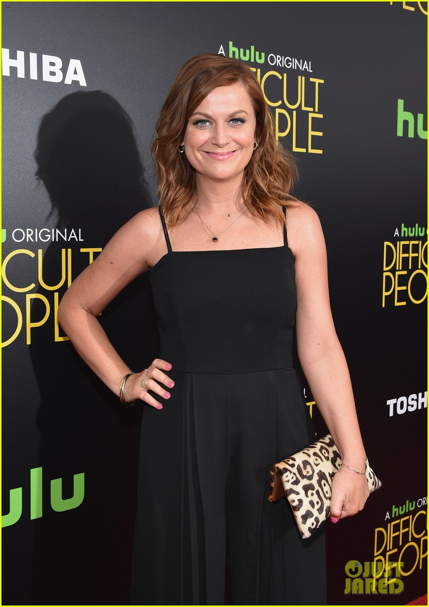 amy poehler brings difficult people to new york premiere 073427686