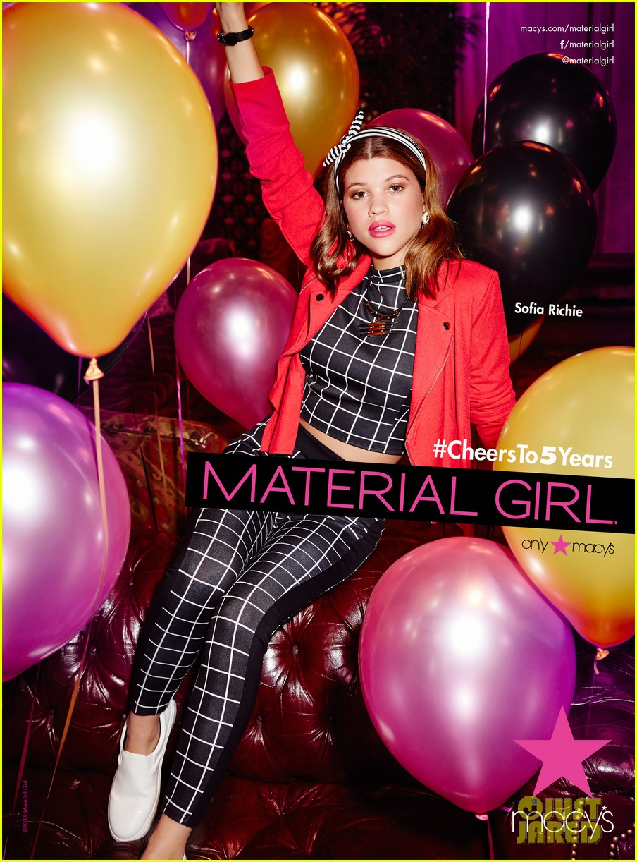 sofia richie material girl campaign 033415835
