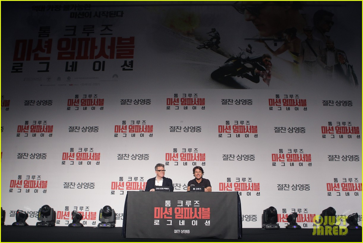 tom cruise mission impossible south korea 153426955