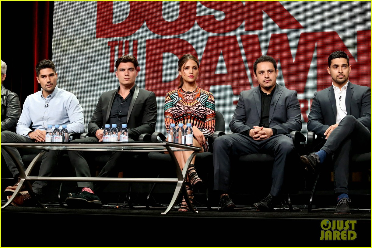 wilmer valderrama co stars tease from dusk til dawn season two 143427676