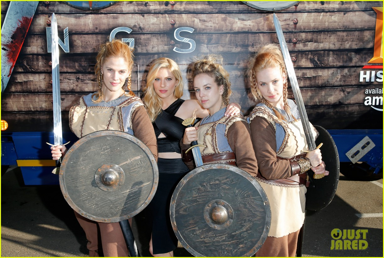 Vikings' Cast Steps Out at Comic-Con, Debuts New Trailer