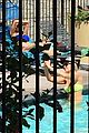 amanda bynes bikini rare appearance pool 09