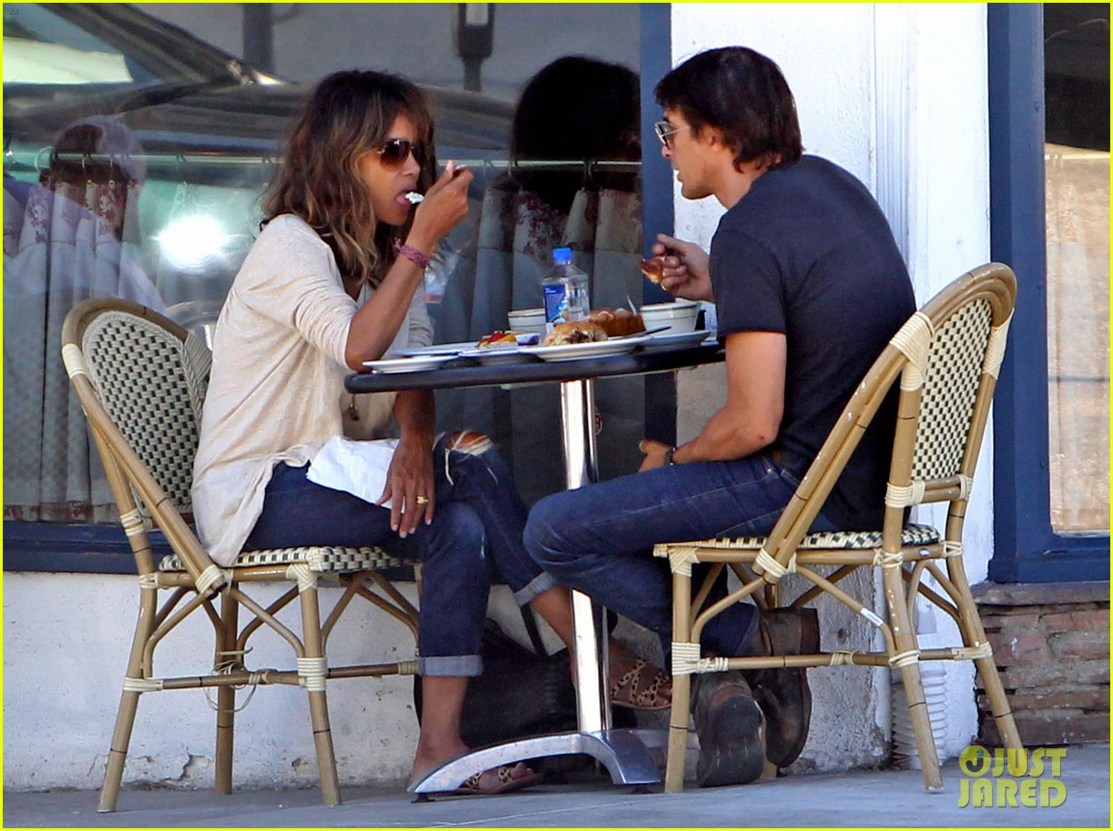halle berry olivier martinez lunch divorce rumors 043448450