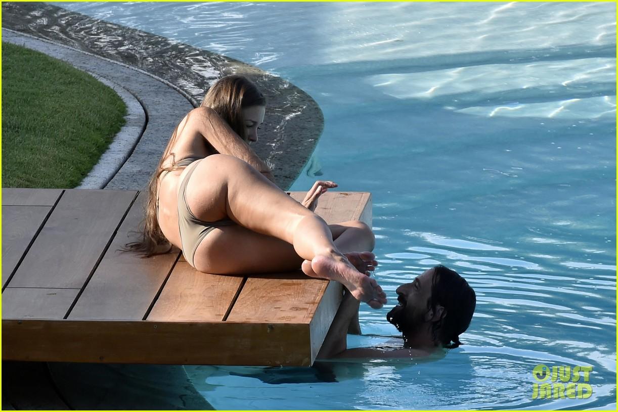 Beach bikini girlfriend pool