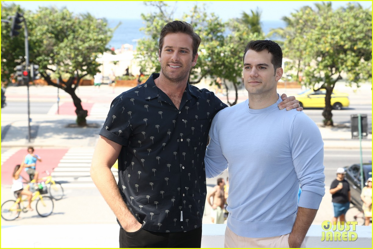 henry cavill armie hammer pose by the beach in rio 033444745
