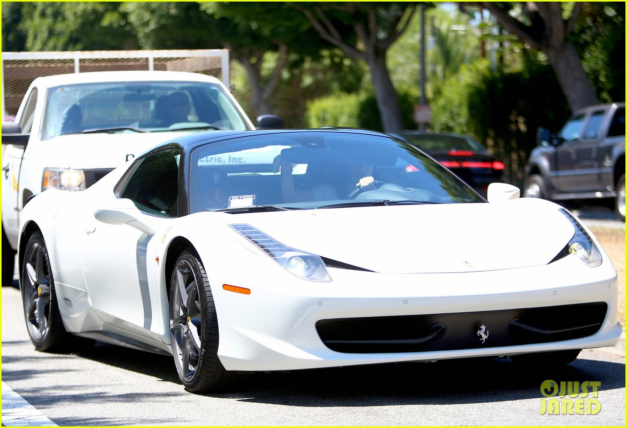 Kylie Jenner Takes Tyga For A Spin In Her New Ferrari Photo 3438708 Kylie Jenner Tyga Pictures Just Jared
