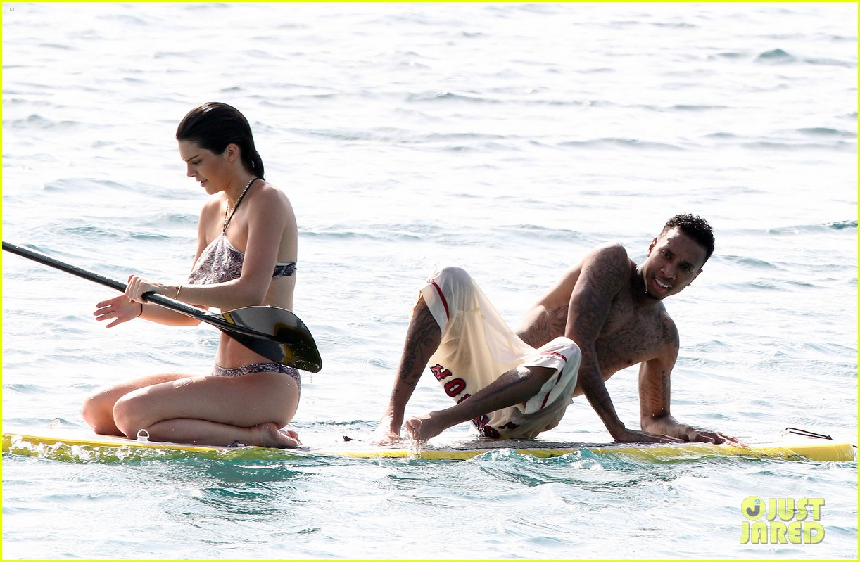 kendall kourtney kardashian bikini st barts beach 333442837