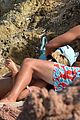 heidi klum vito Schnabel  beach kiss bikini23