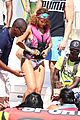rihanna lewis hamilton couple barbados vacation 01