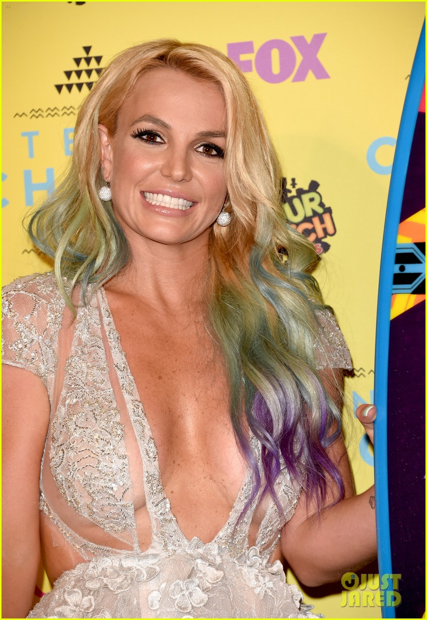 Britney Spears in Mikael D - Teen Choice Awards 2015