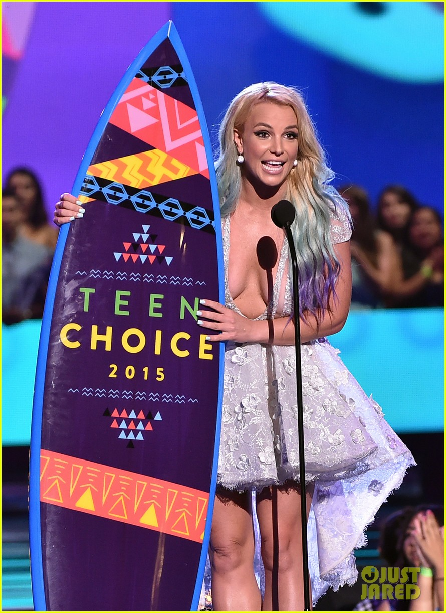 Britney Spears - 2015 TCA Candies