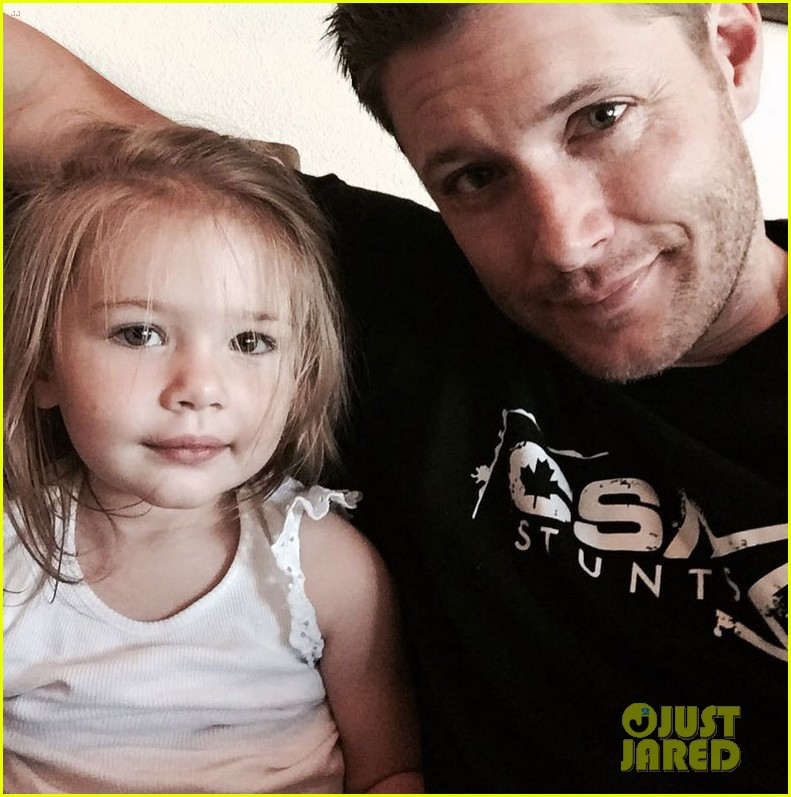 jensen ackles joins instagram daughter 013435728