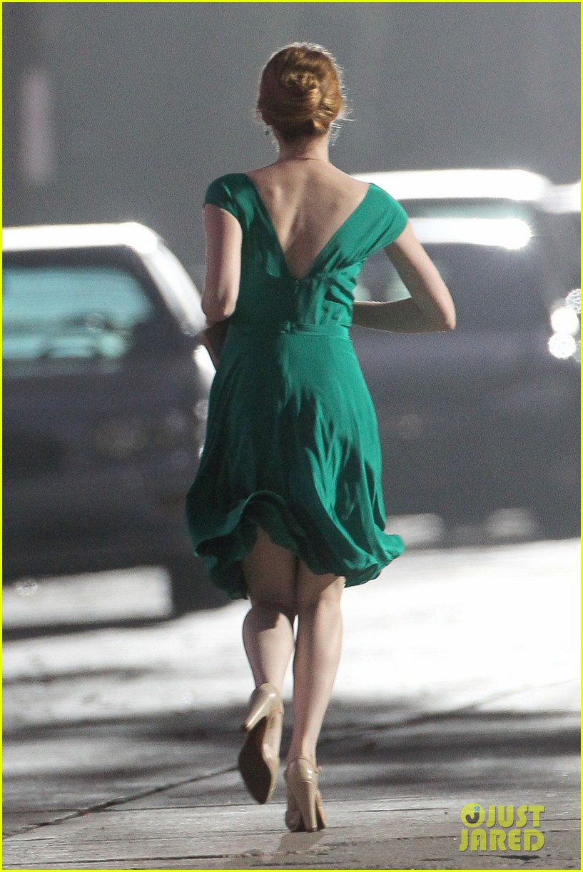 emma stone ryan gosling night shoots lala land race 073441765