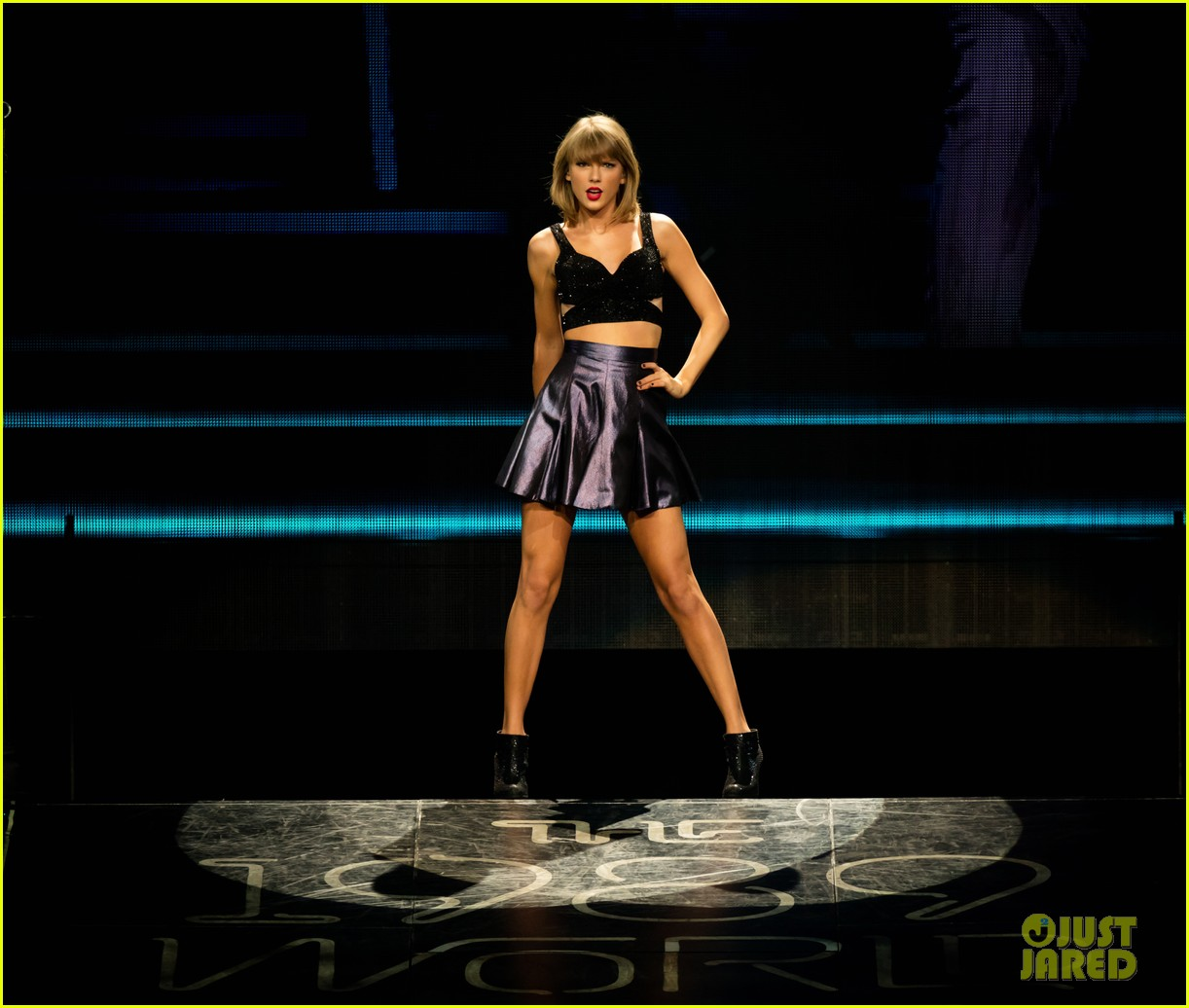taylor swift kobe bryant ryan tedder gigi joe staples center concert night one 093443581