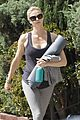 charlize theron yoga class after adopting 09