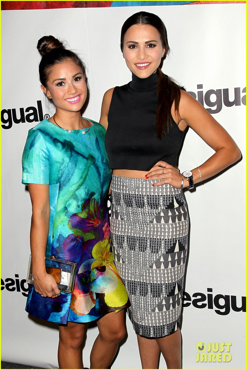 bachelorette stars take over at desiguals nyfw show 103457132