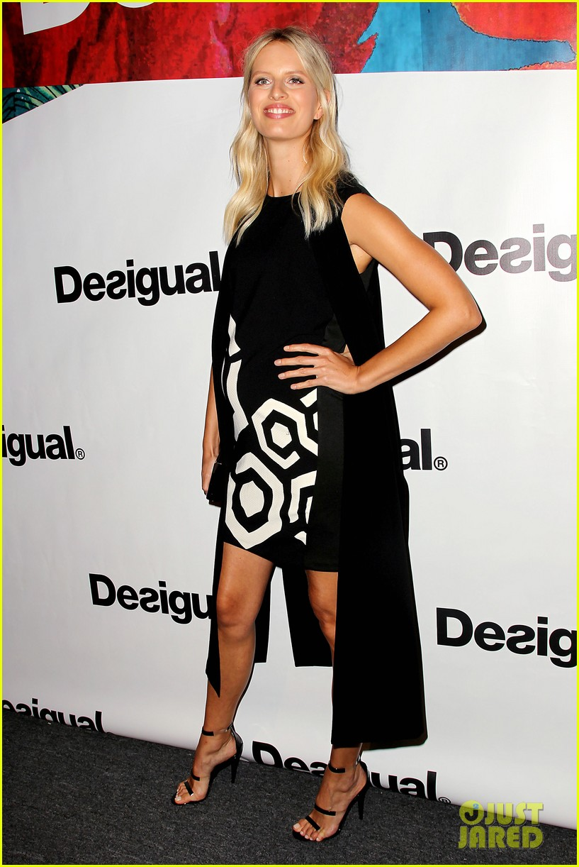 bachelorette stars take over at desiguals nyfw show 143457136
