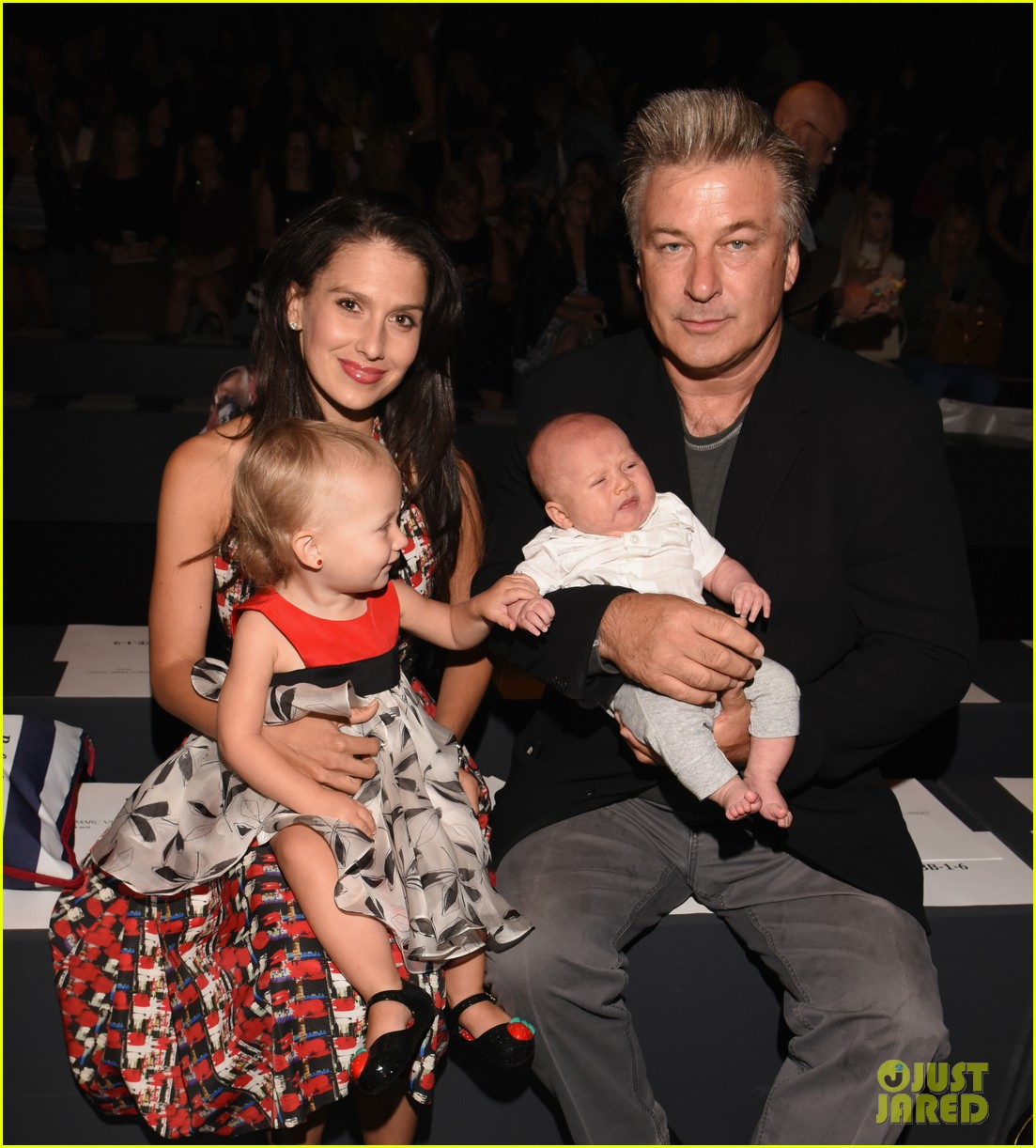 Alec Baldwin Brings 3-Month-Old Son Rafael to NYFW Show ...