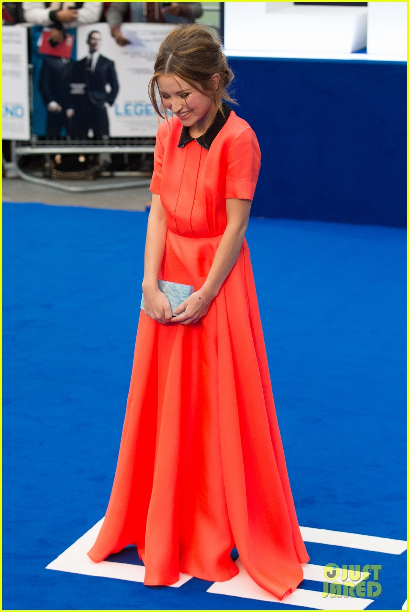 emily browning legend premiere london 183452696