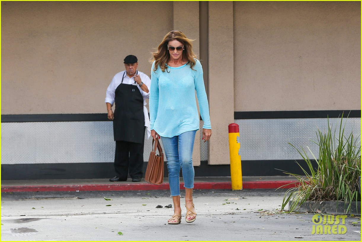 caitlyn jenner puts her bra on display in a sheer sweater 093461901