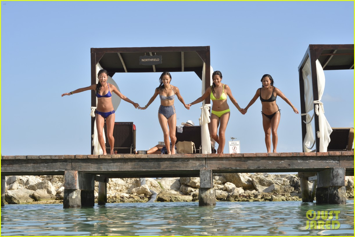 jamie chung bachelorette party weekend in mexico 113454722