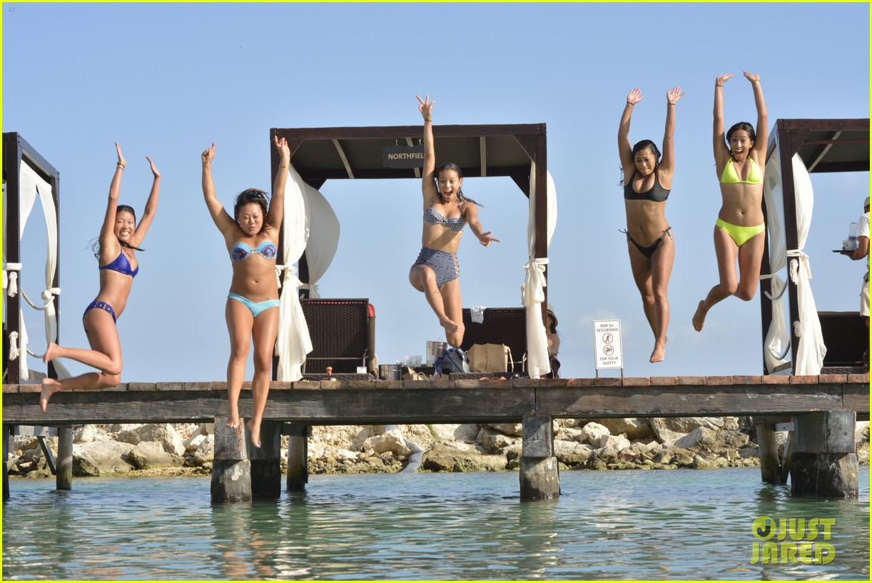 jamie chung bachelorette party weekend in mexico 123454723