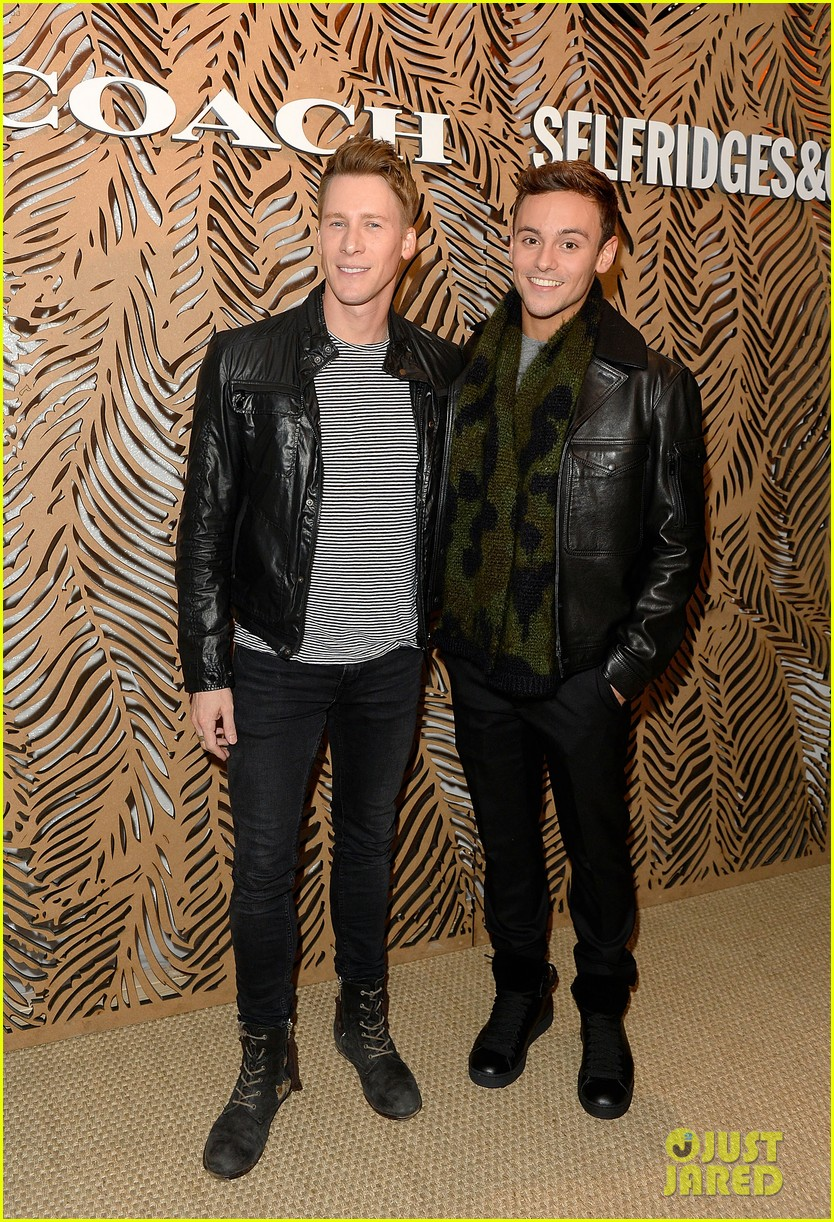 tom daley dustin lance black take on london fashion week 013465750