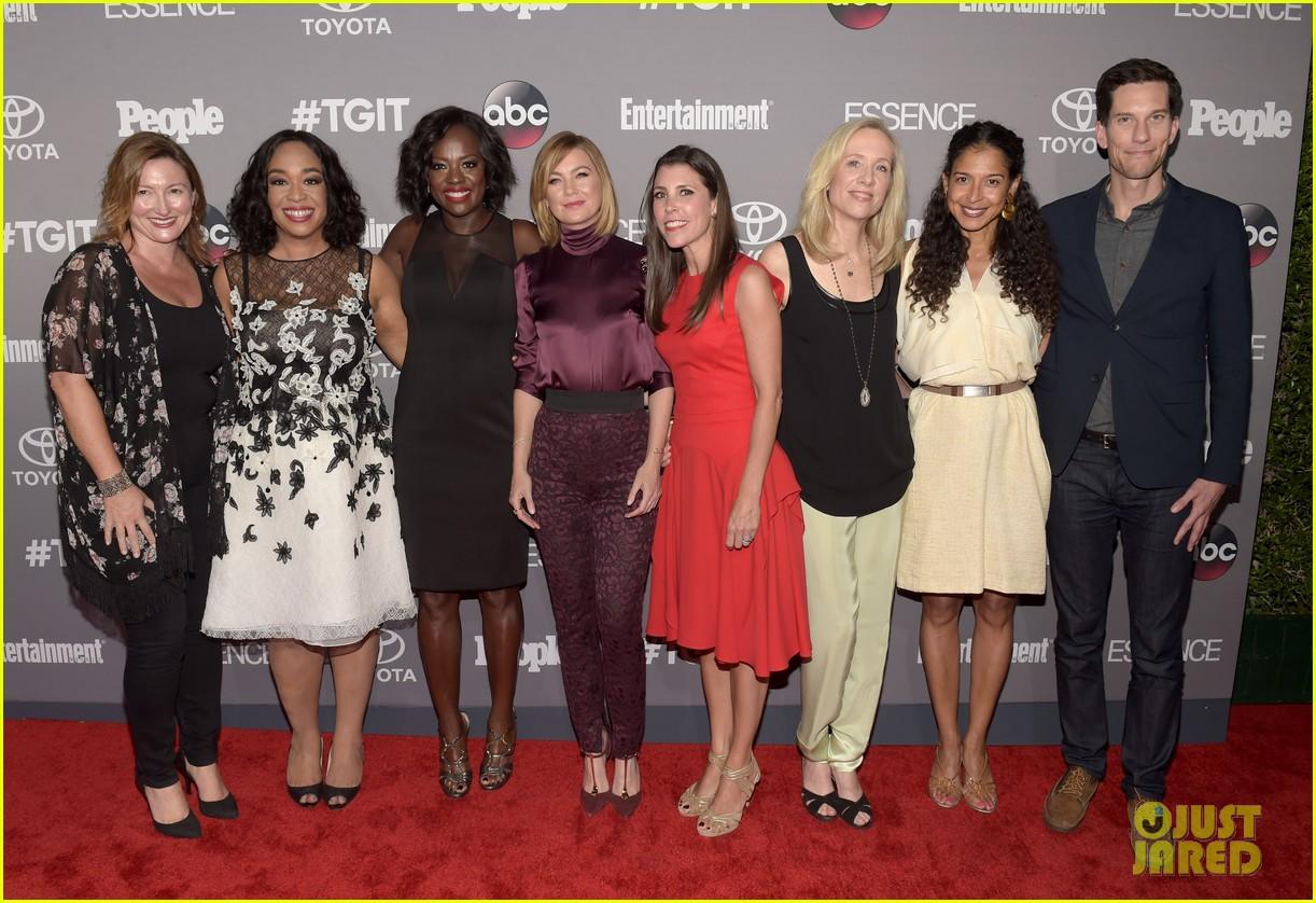 Ellen Pompeo & \'Grey\'s Anatomy\' Cast Celebrate TGIT: Photo 3471853 ...