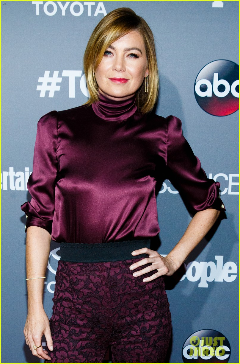ellen pompeo greys anatomy tgit celebration 353471883